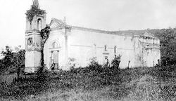 Ruínas da Igreja de NS da Piedade, Iguassu Velho, RJ