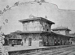 Estação de Belem em 1928