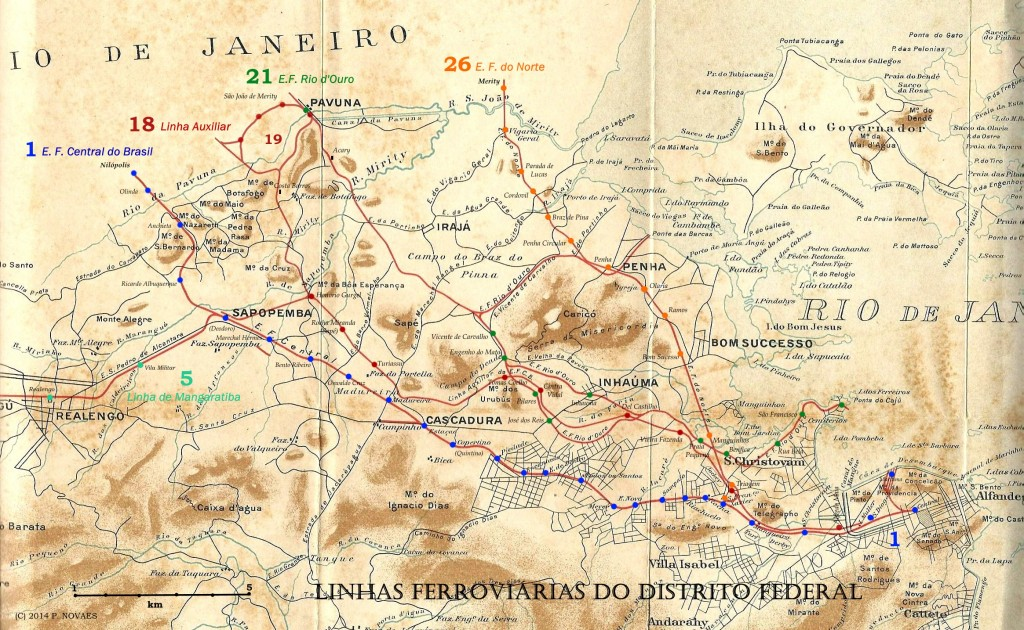 FER 4. Ferrovias do DF (1907)