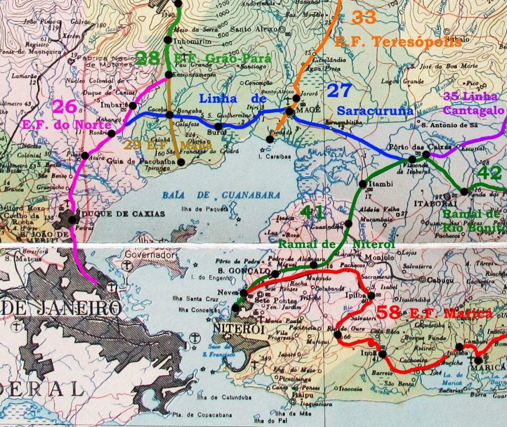 FER 8. Linhas da Baia de Guanabara