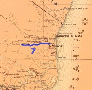 Mapa original mapoteca IHGB 1935