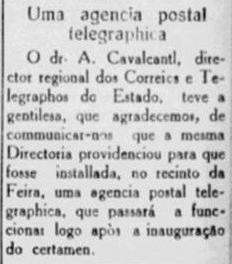 Feira de Amostras de Niteroi 27.04.1935 - APT
